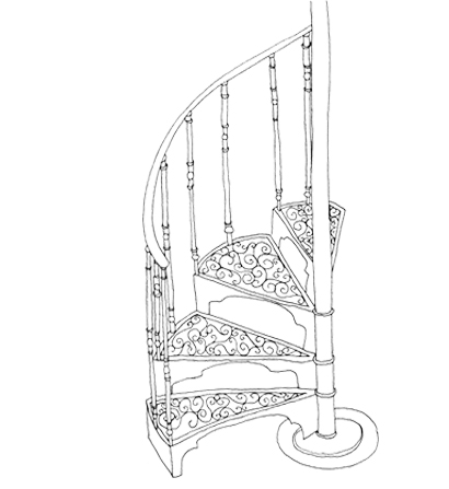 illustration_Staircase